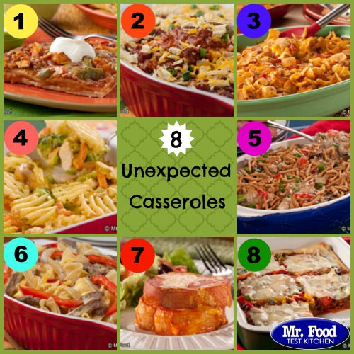 Unexpected Casseroles