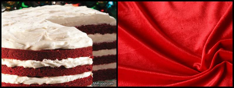 Velvet Cake & Texture