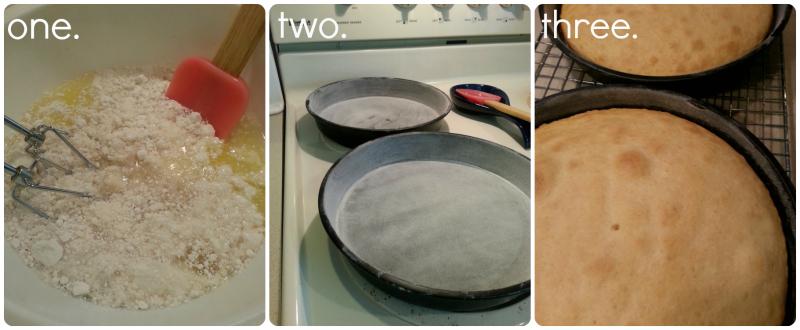 Peachy Poke Cake Steps