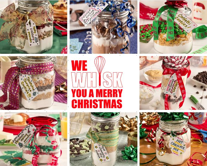 Christmas Gifts in a Jar Collection