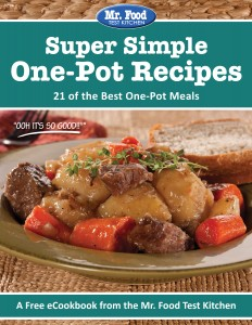 Super Simple One-Pot Recipes: 21 of the Best One-Pot Meals FREE eCookbook