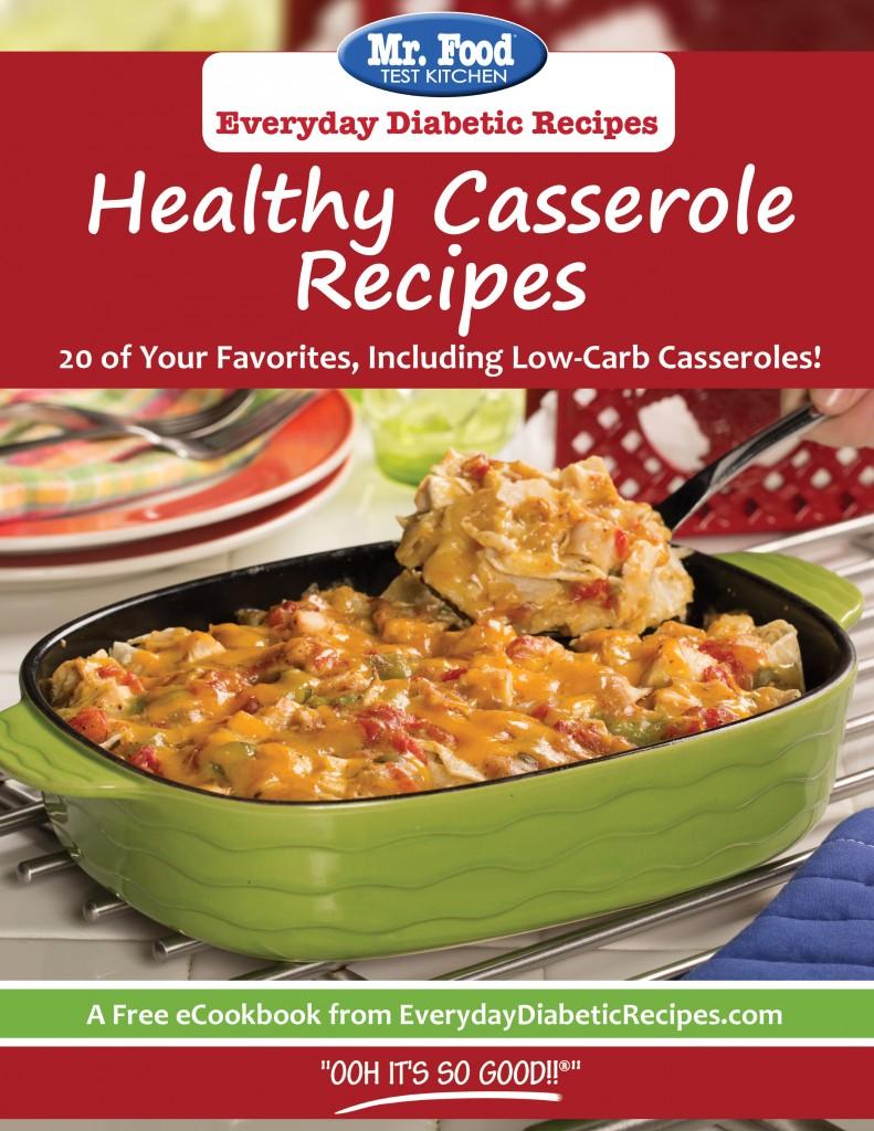 Healthy Casserole Recipe Cover