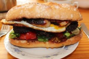 Fried Breakfast Roll