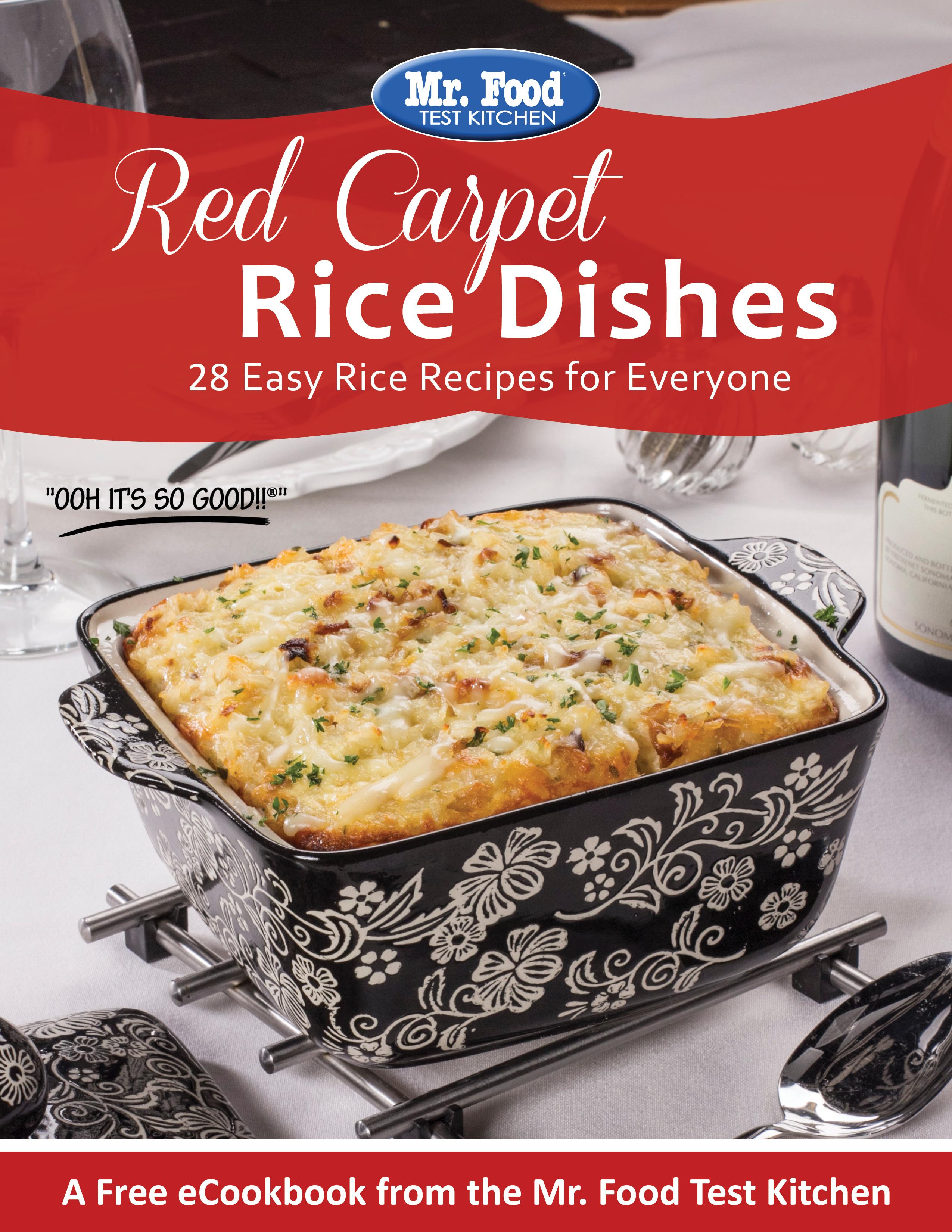 red carpet rice dishes free ecookbook mr food s blog rh mrfood com Gameday Food Gameday Food