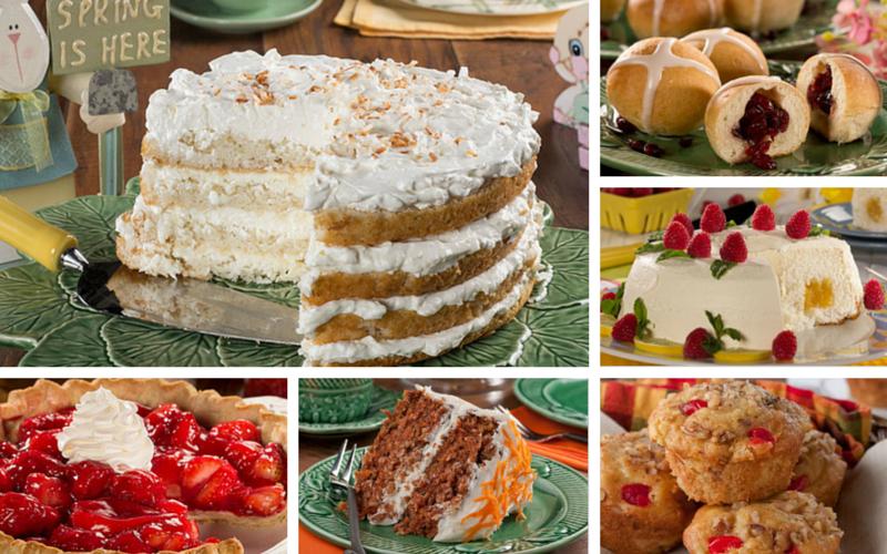 Recipes for a traditional easter dinner mr food 39 s blog for Dessert for easter dinner