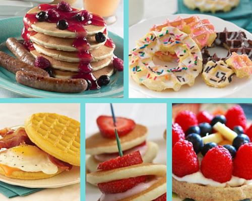 Pancakes & Waffles Breakfast