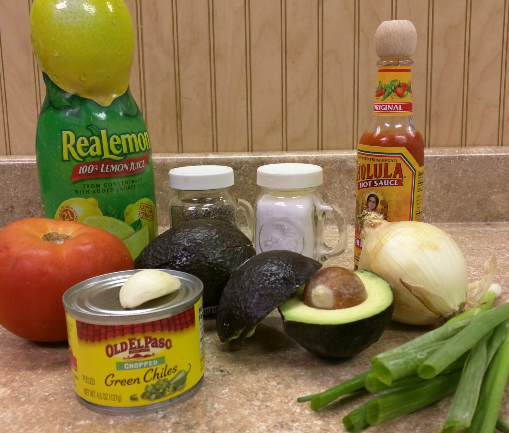 How to Make Guacamole - Ingredients