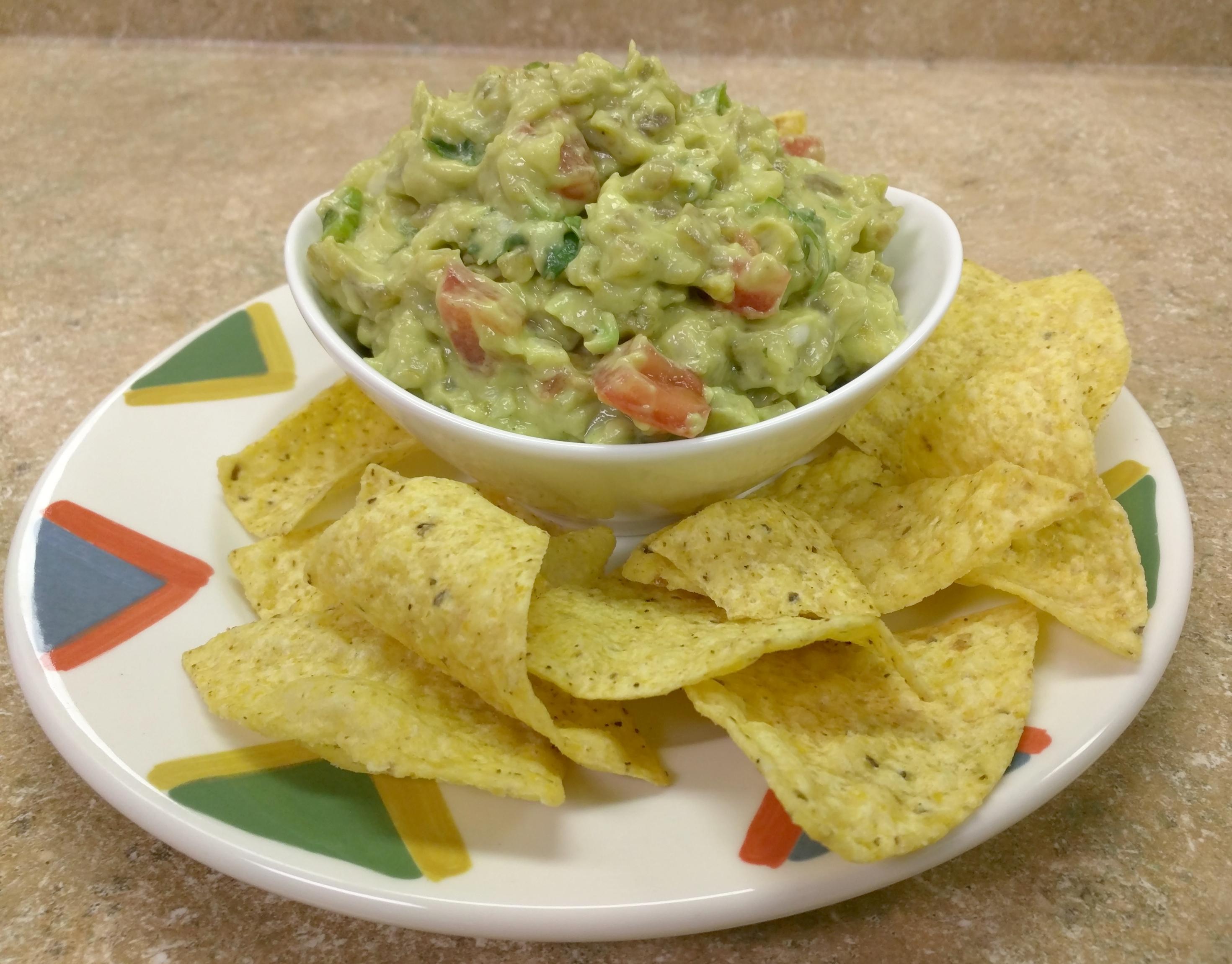how to make guacamole dip