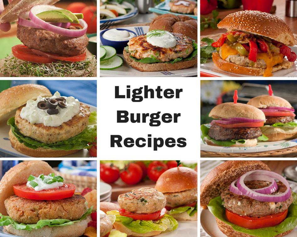 Lighter Burger Recipes