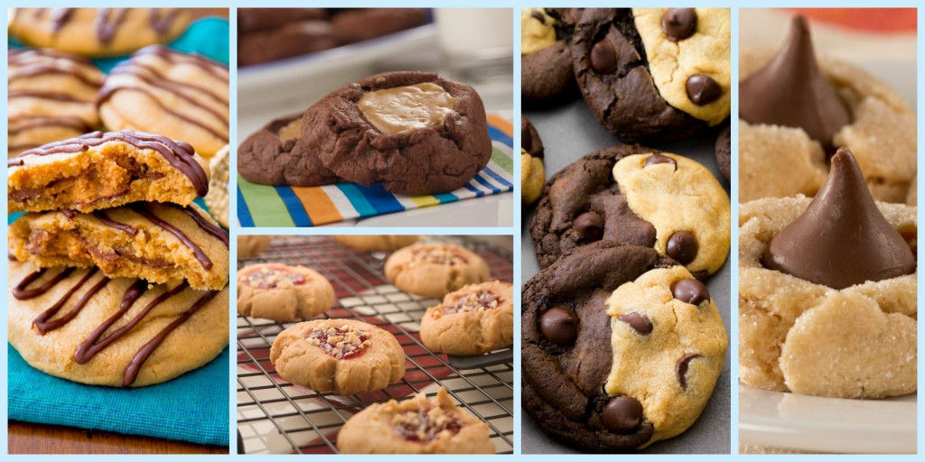 PB cookies collage