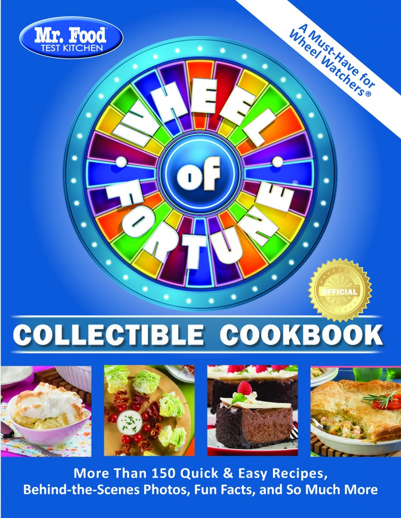 Mr. Food Test Kitchen Wheel of Fortune Collectible Cookbook