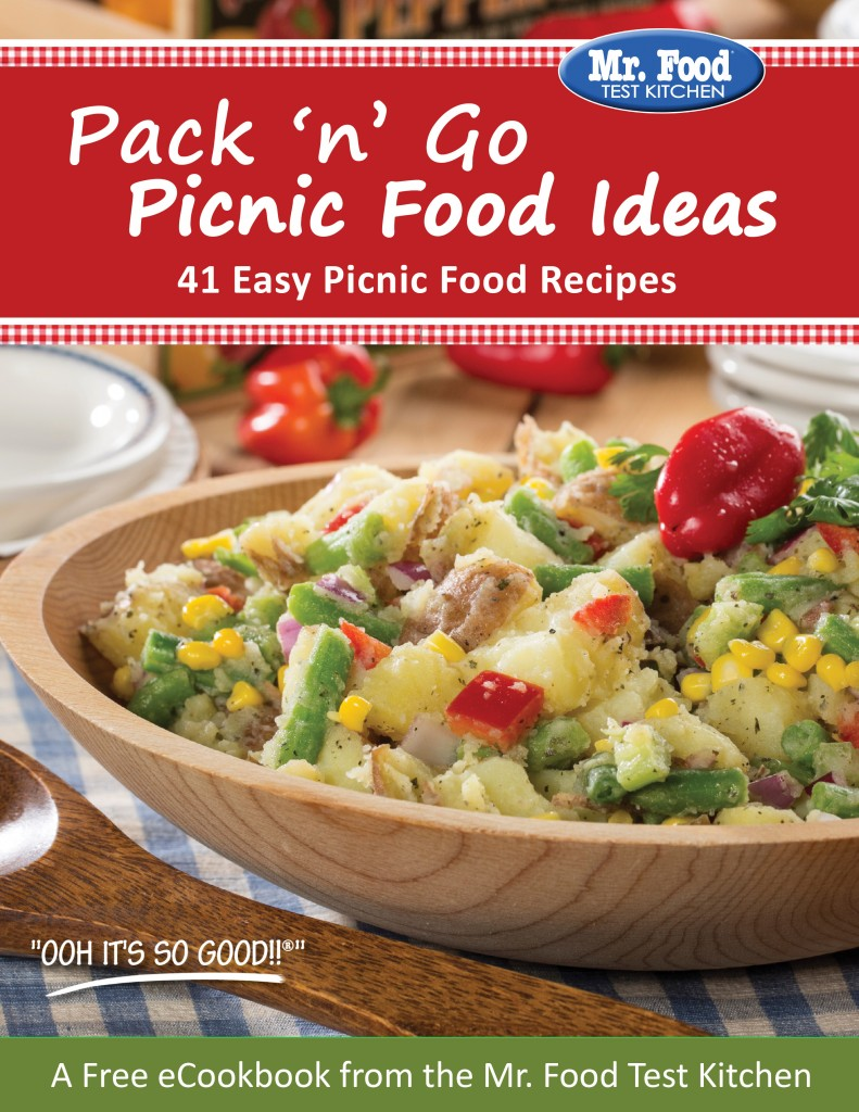 Plan the perfect picnic free picnic ecookbook mr foods blog 06 2015 picnic ecookbook cover forumfinder Choice Image