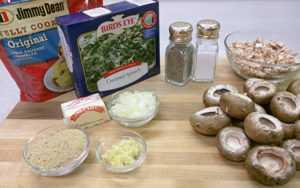Stuffed-Mushrooms-Ingredients