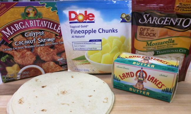 Tropical-Shrimp-Quesadillas-Ingredients