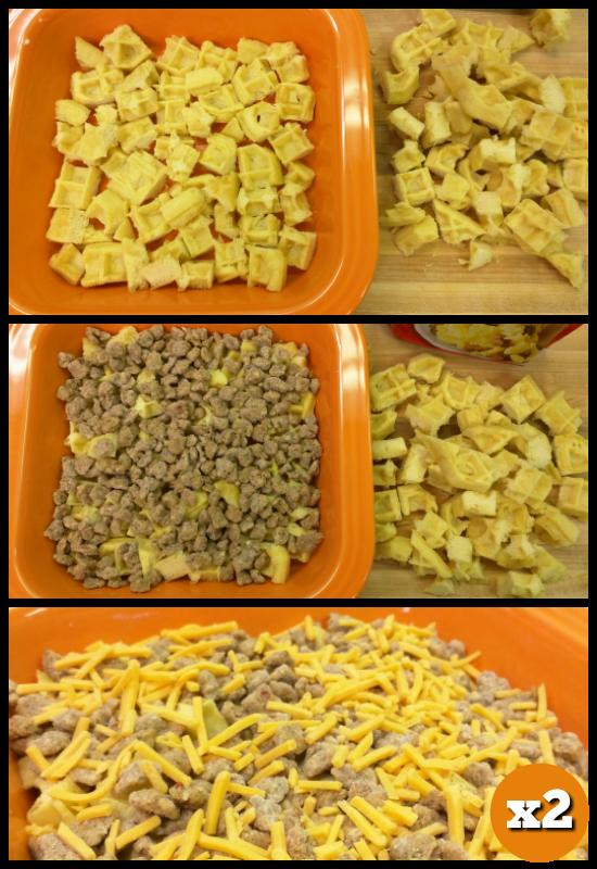 Make-Ahead Breakfast Casserole Layers