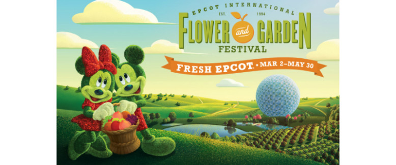 Fun at the Epcot® Flower and Garden Festival