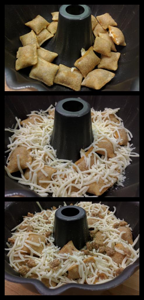 Pizza-Bundt-Layers