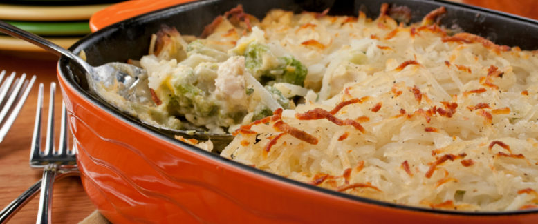 How to Make: Chicken and Broccoli Hotdish (Giveaway!)