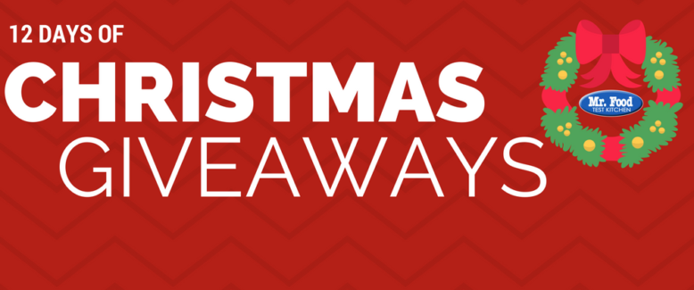 12 Days of Christmas Giveaways 2016