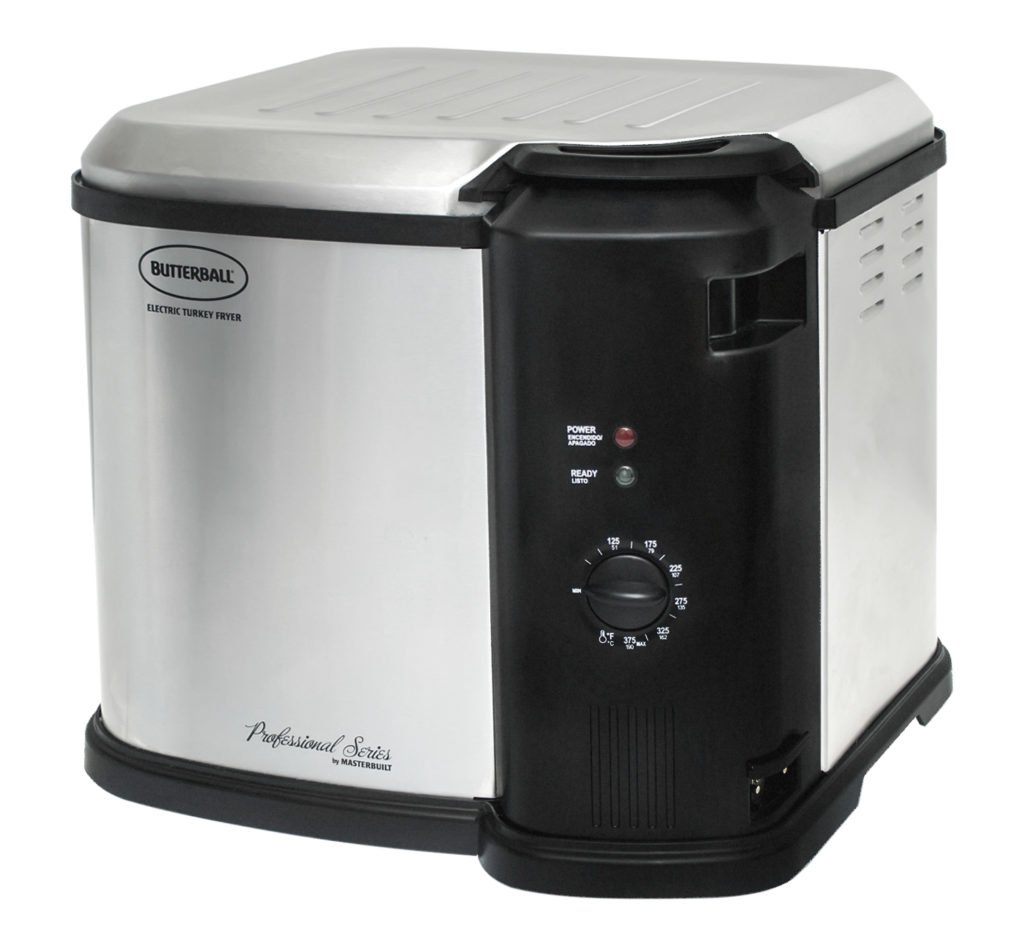 23011014 MB Butterball Analog Electric Turkey Fryer w/o timer SS ETF3