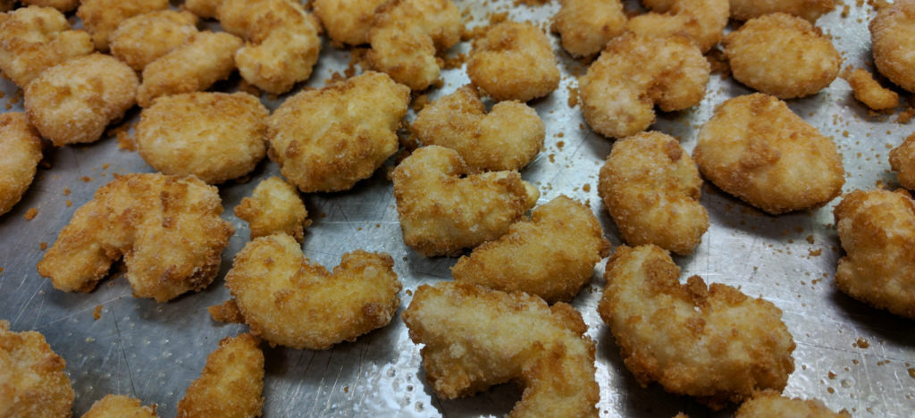 Cooked Popcorn Shrimp