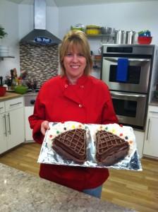Patty and Ice Cream Cakes