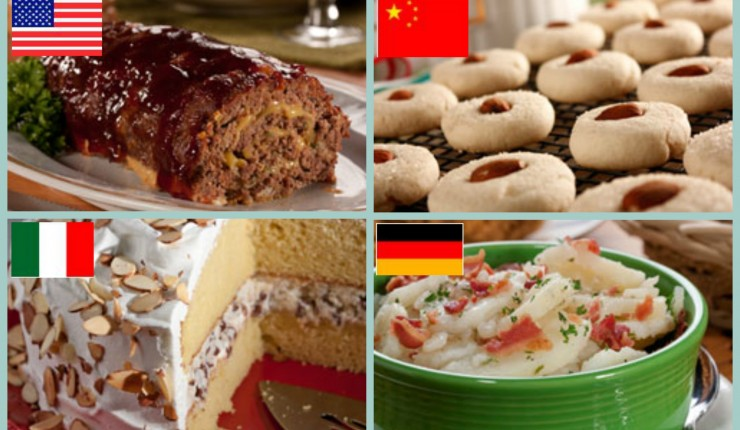 International Favorites: 6 Menus from Around the World