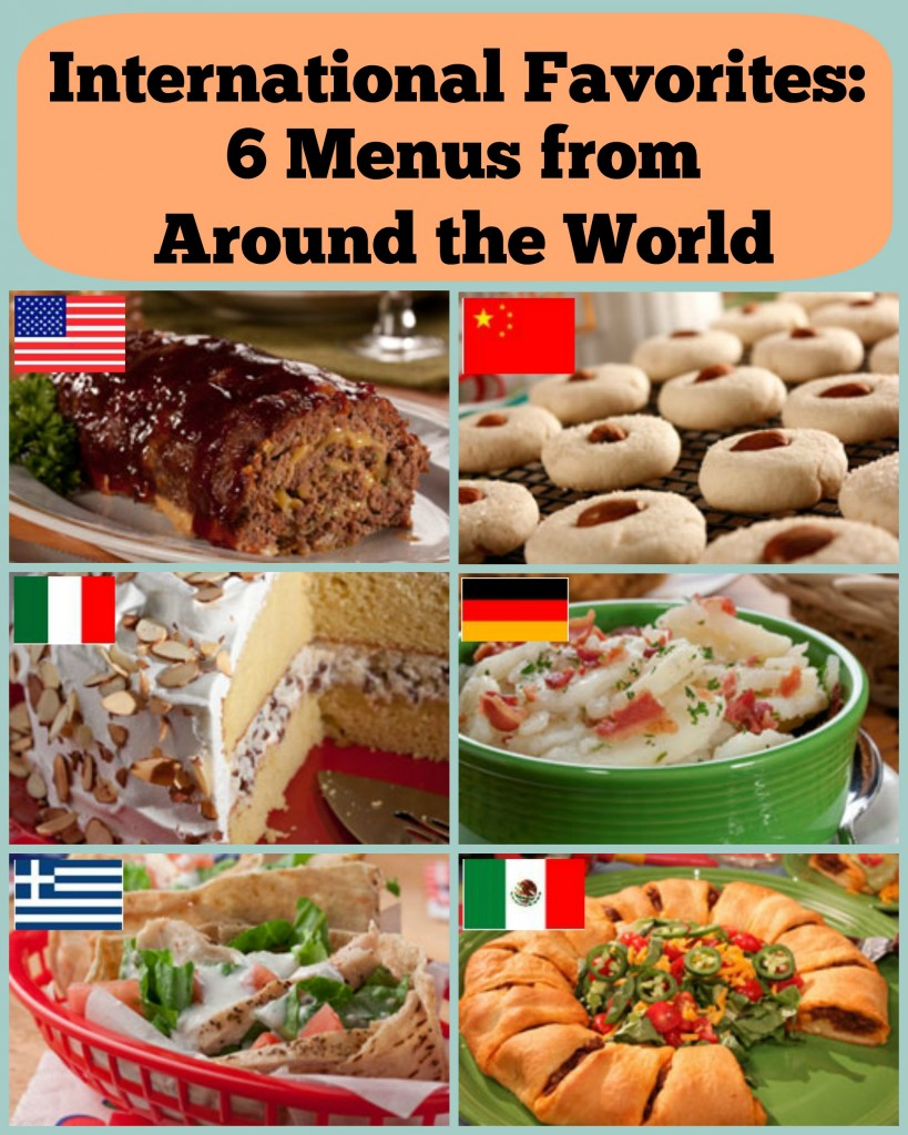 International Favorites: 6 Menus from Around the World