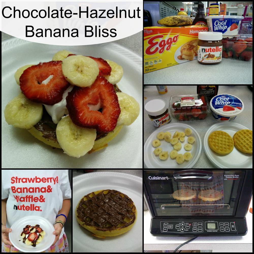 Chocolate-Hazelnut Banana Bliss