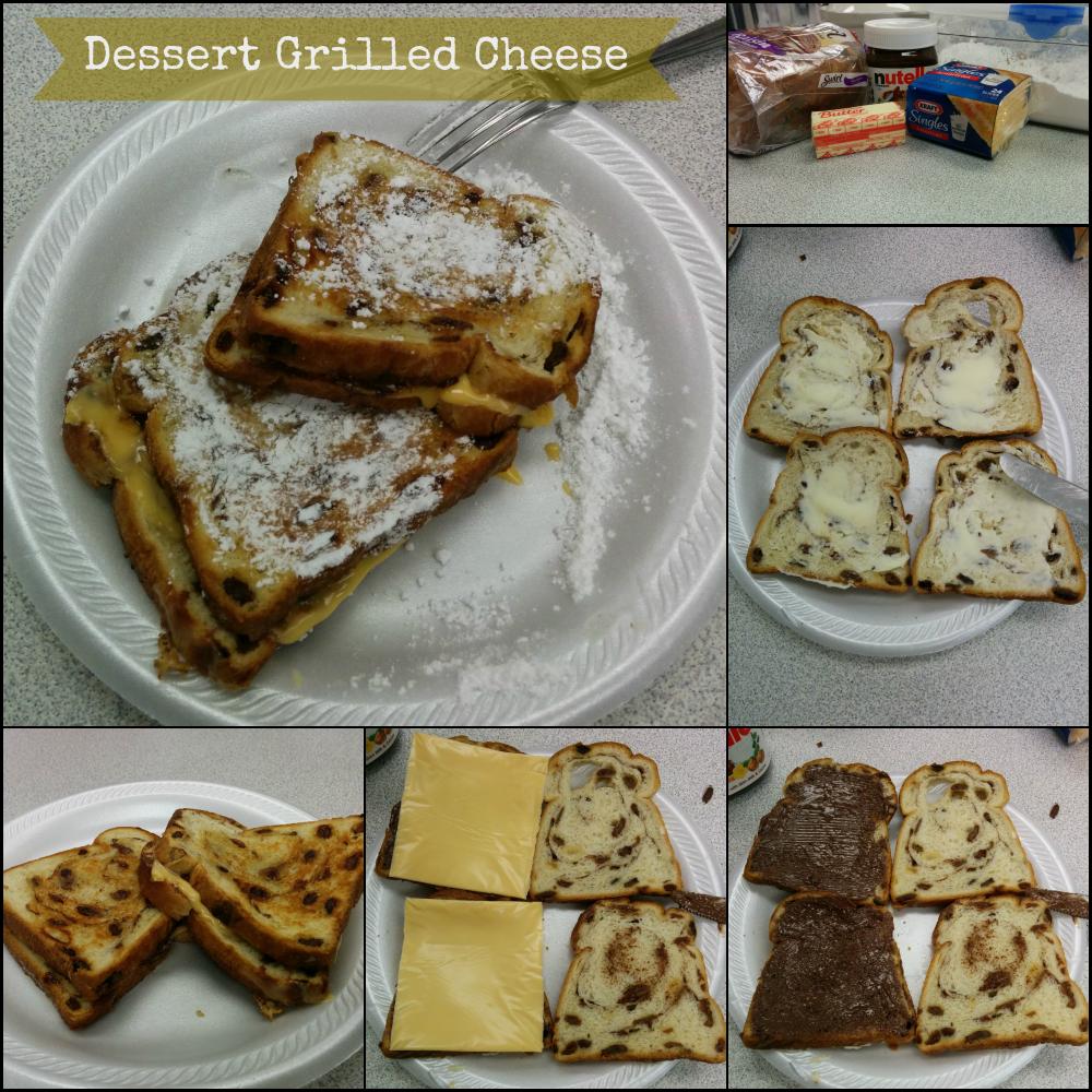 Dessert Grilled Cheese