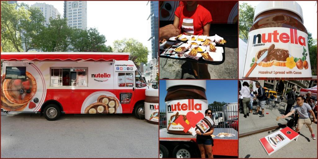 Nutella Spread the Happy Tour