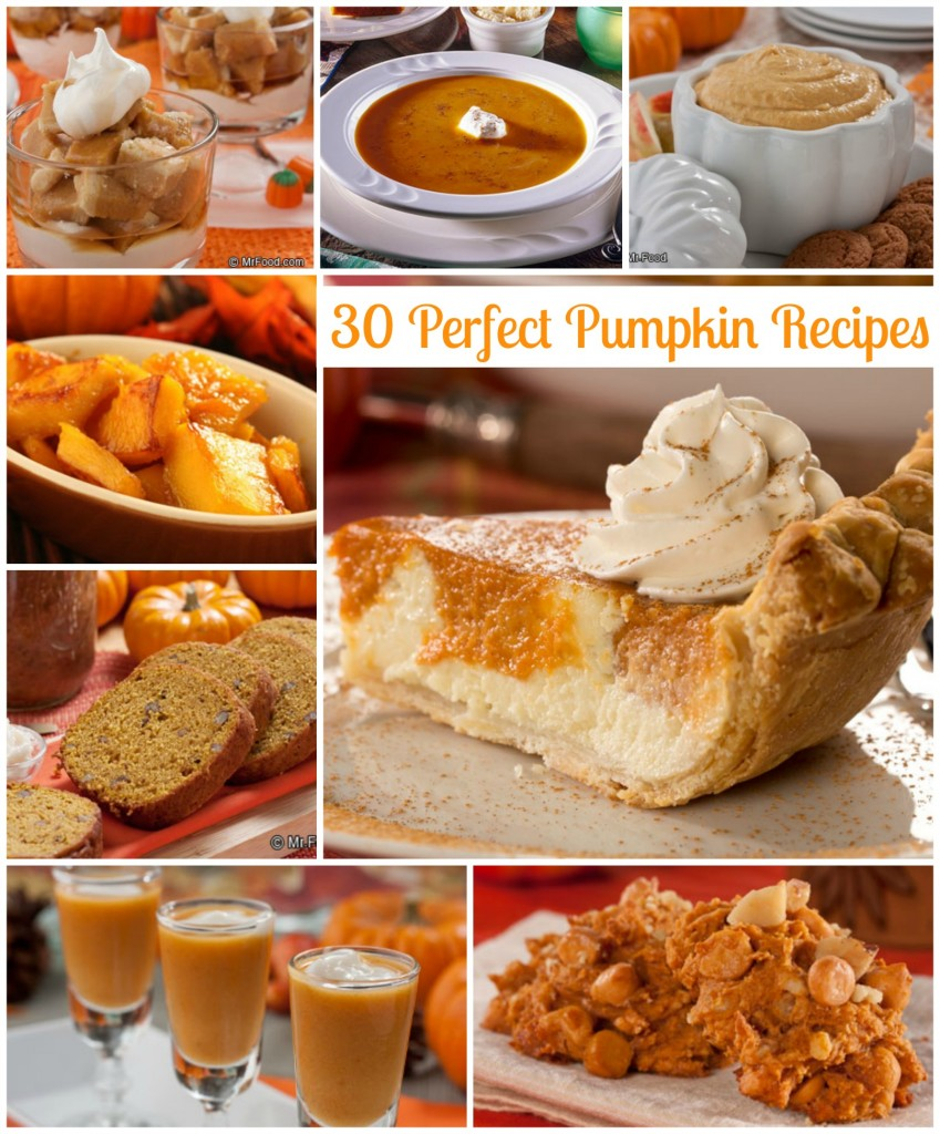 Collection of Perfect Pumpkin Recipes