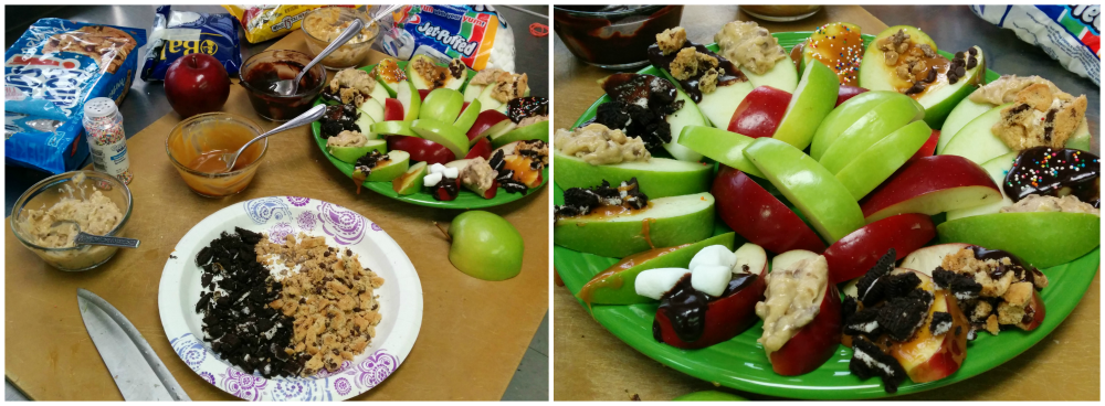 Apple Dipping Bar Complete