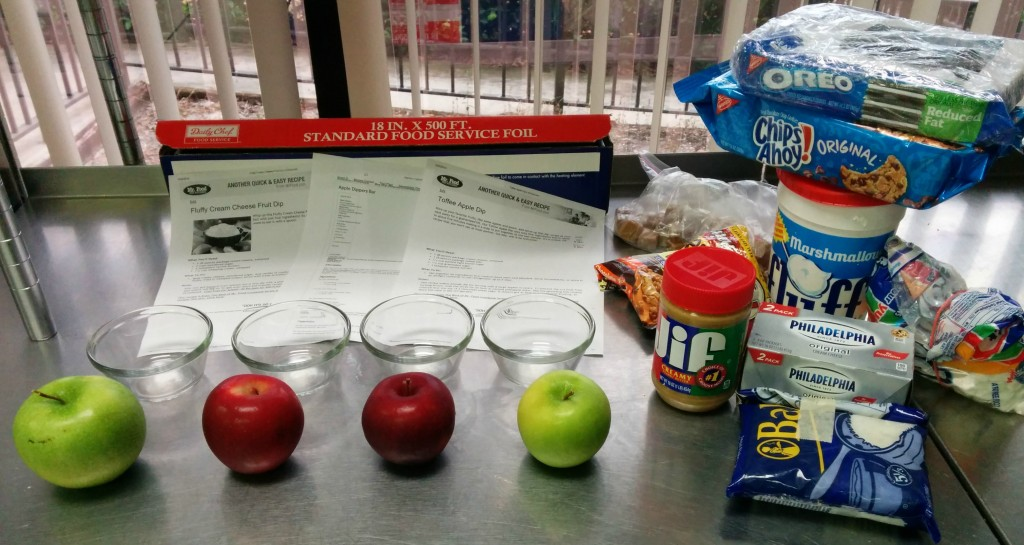 Candy Apple Dipping Bar Ingredients