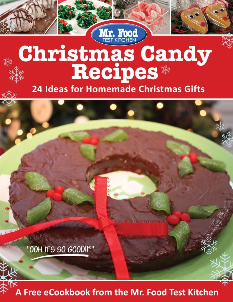 Christmas Candy Recipes FREE eCookbook Cover