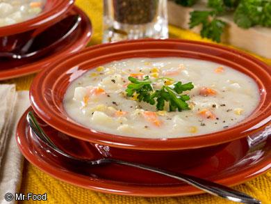 Creamy Corn and Potato Soup