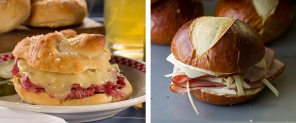 Pretzel Sandwiches