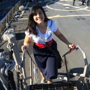 Merly on USS Cole