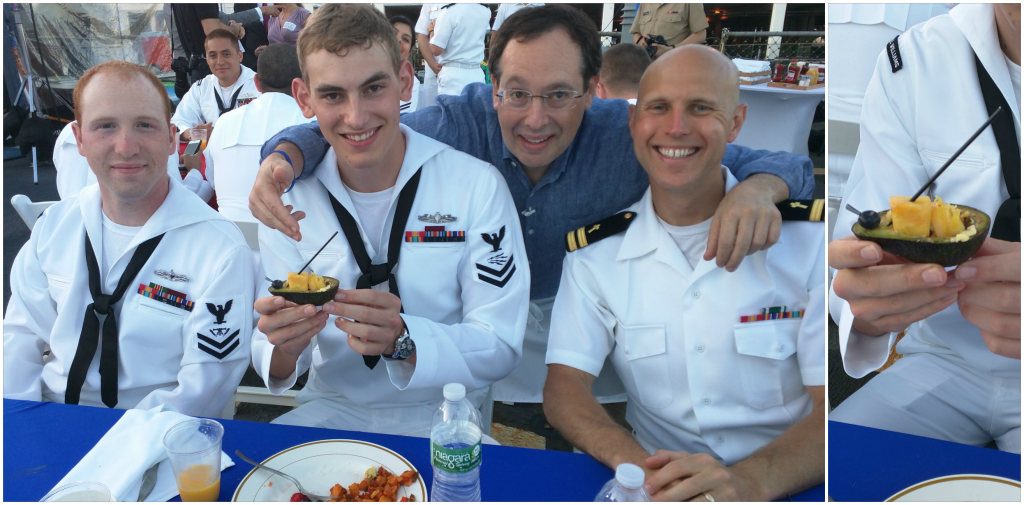 Sailor's Avocado Boat