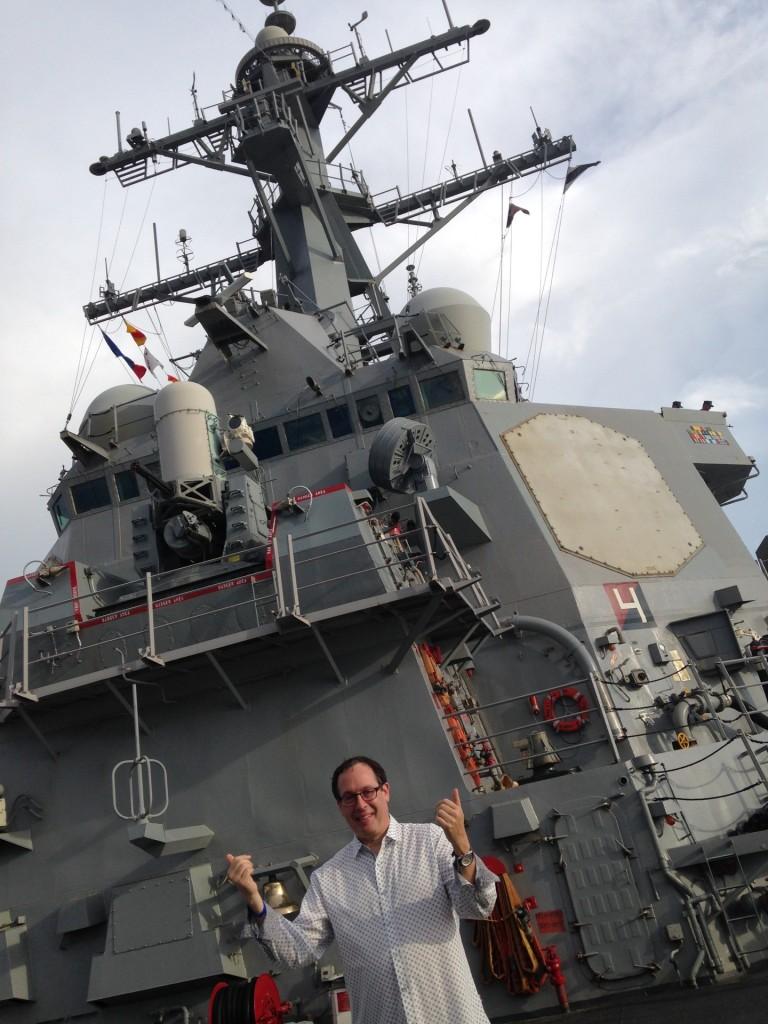 Howard on USS Cole