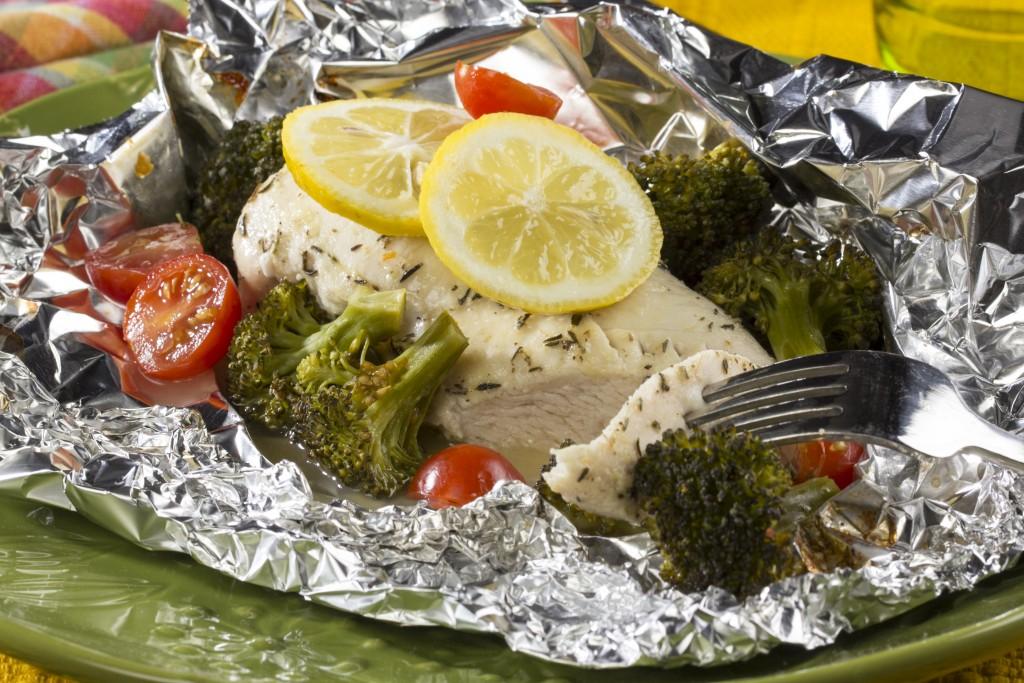 Sunny Lemon Chicken & Broccoli