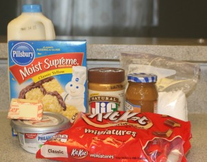 Candy-Bar-Cake-ingredients