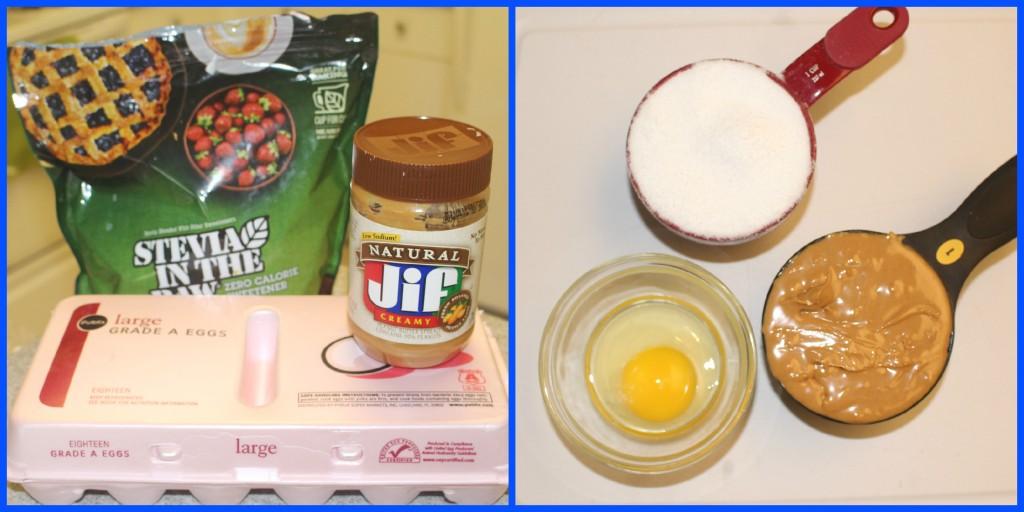 PB Cookies ingedients