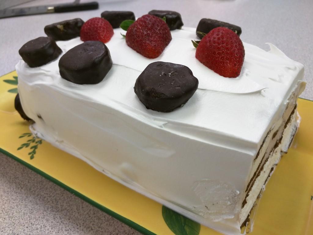 Garnished Cake