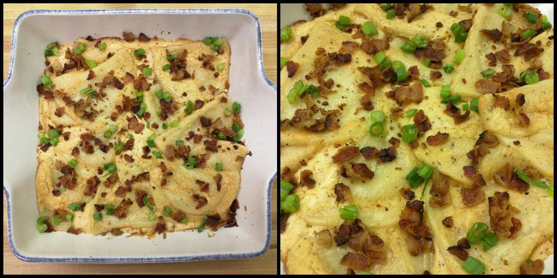 how to make cheesy bacon pasta bake