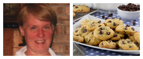 Cindy Burns - My Mom's Chocolate Chip Cookies