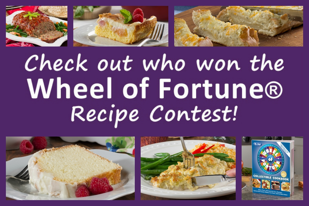 Wheel of fortune cookbook recipe contest winners mr foods blog forumfinder Images