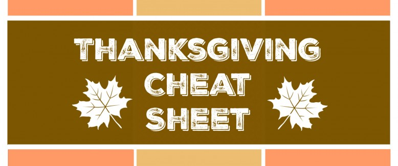 Thanksgiving Dinner Menu: Planning Cheat Sheet
