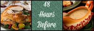48 hours before