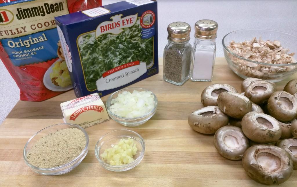 Stuffed-Mushrooms-Ingredients